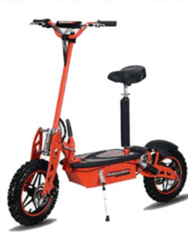 1800 watt lithium electric scooter