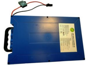 48v 50a 18ah lithium battery pack with handle